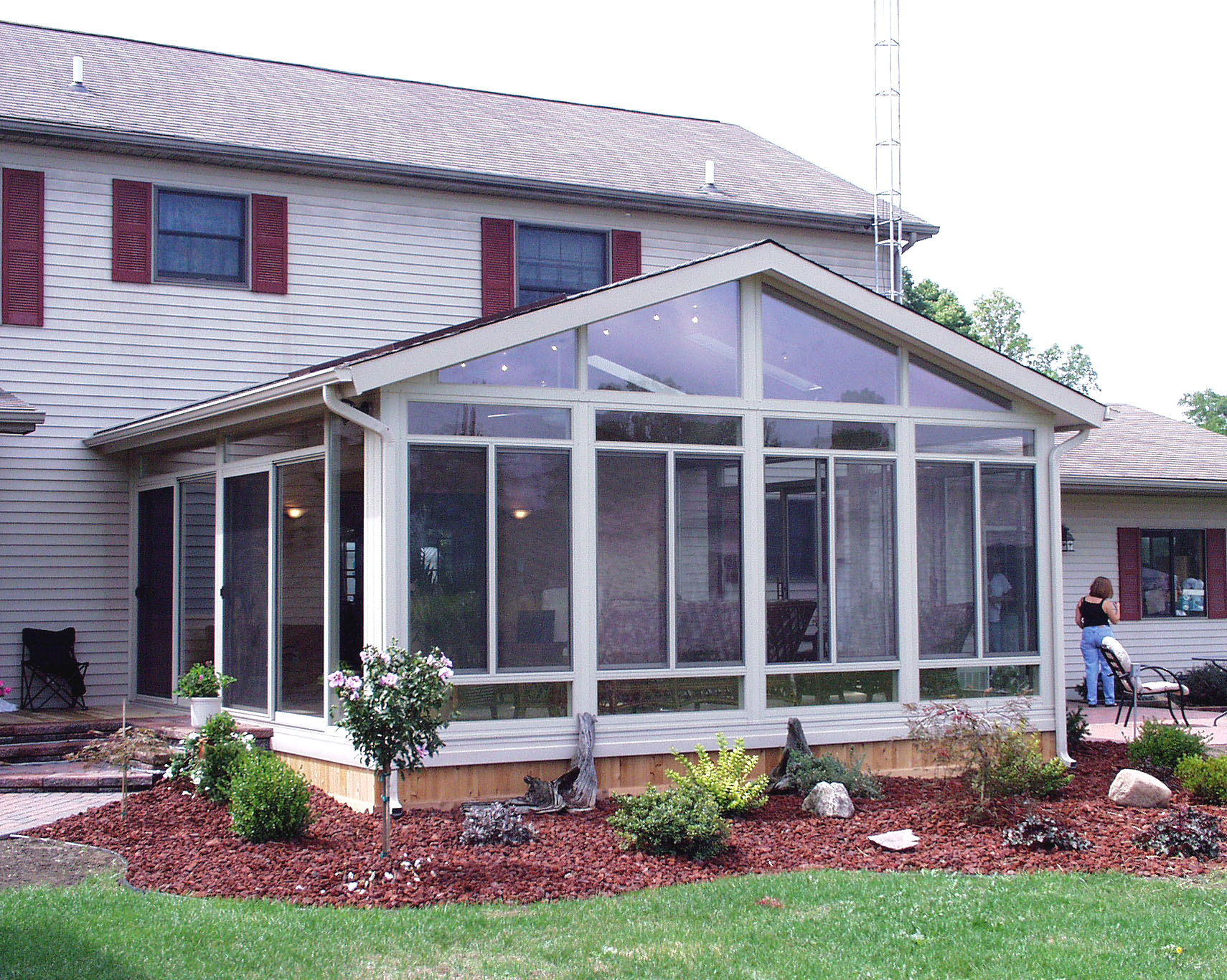 Eagle windows doors and four season sun rooms action for Porch rooms